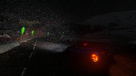 V ústrety dažďu a snehu v Driveclube