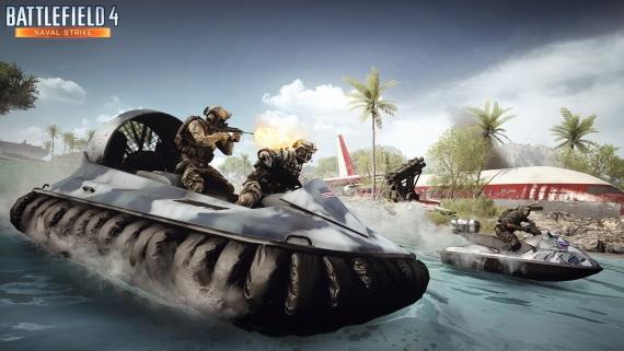 Zábery z marcového Battlefield 4 DLC obsahu - Naval Strike