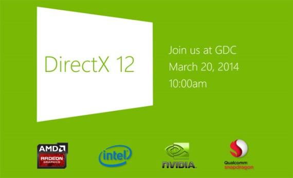 DirectX 12 oficiálne potvrdený, bude predstavený na GDC