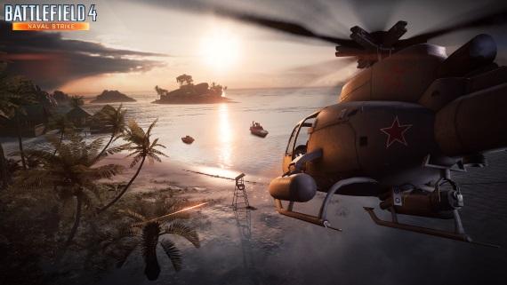 Battlefield 4 na PC dostal nový patch pre netcode a Naval Strike
