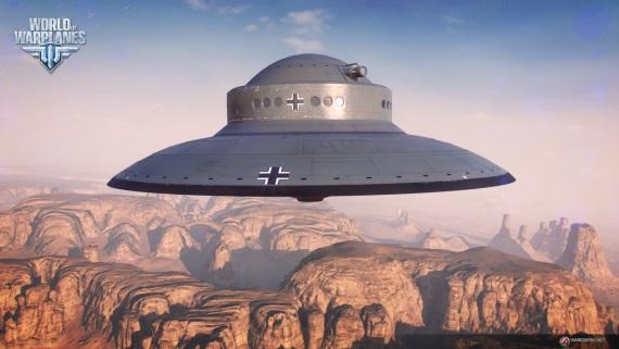 World of Warplanes testuje UFO