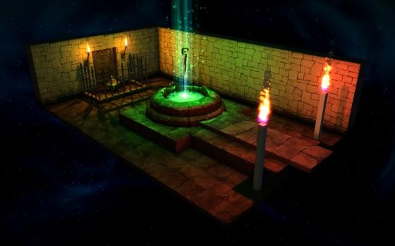 Z Lumo sa dostanete len cez 150 miestností plných puzzle fyzikálnych a magických úloh