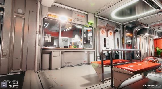 Miestnosť z Deus Ex: Human Revolution prerobená do Unreal Engine 4 sa ukazuje na videu