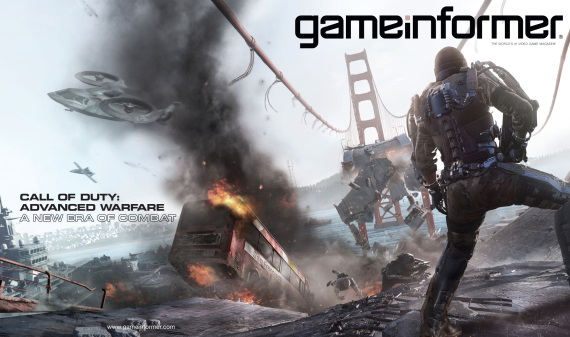 Gameinformer teasuje nové číslo s Call of Duty Advanced Warfare na titulke