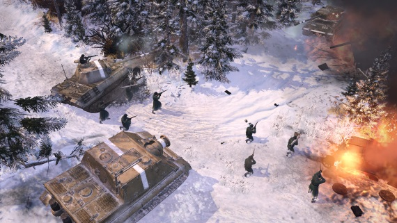 Company of Heroes 2: The Western Front Armies mieri na západ