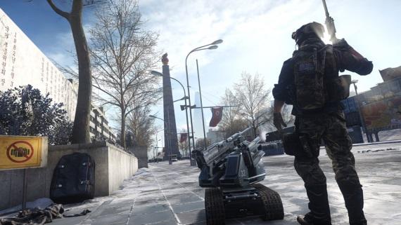 Pohľady na mapy v Battlefield 4: Dragons Teeth