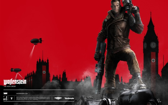Wolfenstein New Order wallpapery