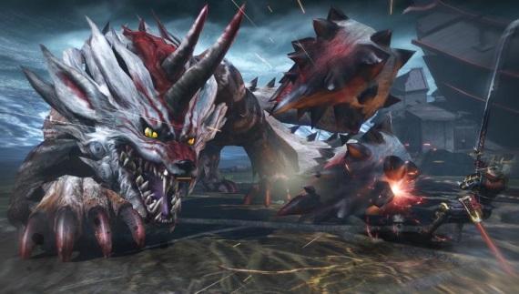 Množstvo obrázkov z akčnej RPG Toukiden: Kiwami