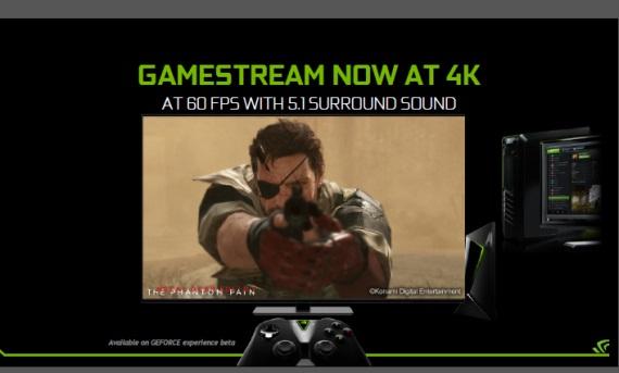 Nvidia už streamuje hry v 4K