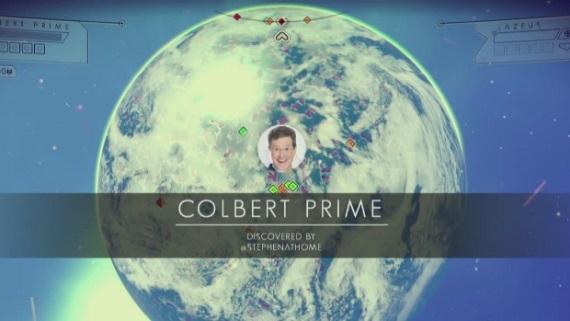 No Man's Sky sa predviedlo v Colbertovej show
