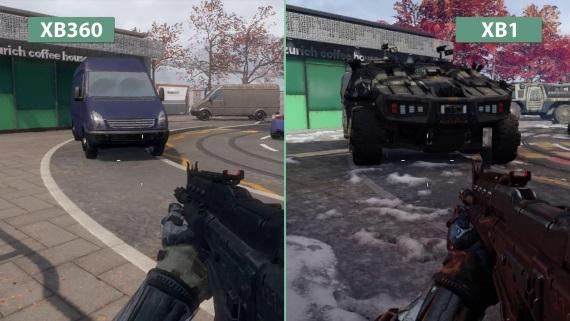 Porovnanie máp Call of Duty: Black Ops III na Xbox One a Xbox 360