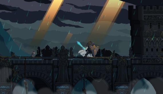 Death's Gambit, 2D RPG inšpirované Dark Souls