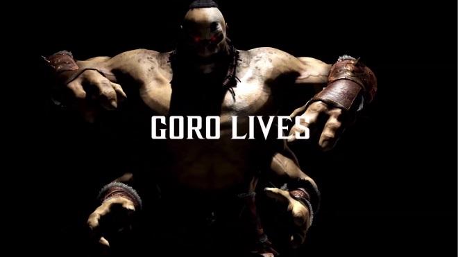 Goro z Mortal Kombat X sa predvádza