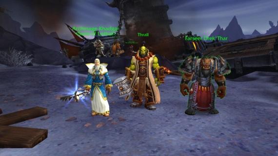 Blizzard ukazuje zábery zo starých verzií World of Warcraft