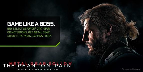 Nvidia pribalí Metal Gear Solid V k svojim novým grafickým kartám