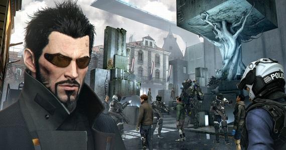 Adam Jensen pozdravuje z Gamescomu