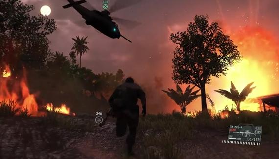 Polhodinová ukážka hrateľnosti z Metal Gear Solid V