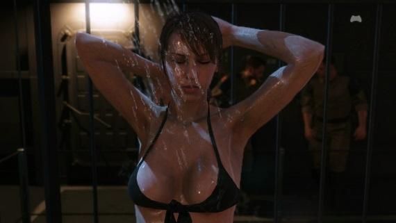 Ako v MGS V odomknúť sprchovú scénu s Quiet?