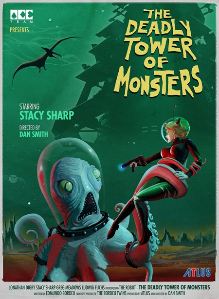 The Deadly Tower of Monsters práve vyšlo na PC a PS4