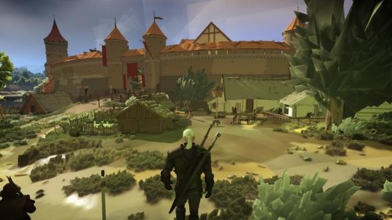 Nový mod na Zaklínača 3 spôsobí, že hra vyzerá ako 3DS titul