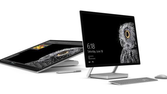 Microsoft ohlásil Creators Update pre Windows 10 a PC nazvané Surface Studio