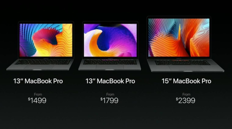 Apple predstavilo nové MacBooky s touchbarom