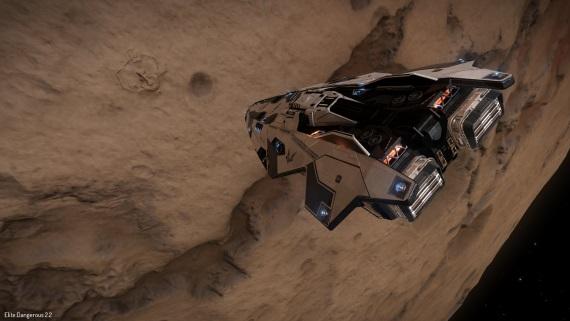 Veľká oblasť s mimozemskými artefaktmi v Elite: Dangerous bola odhalená