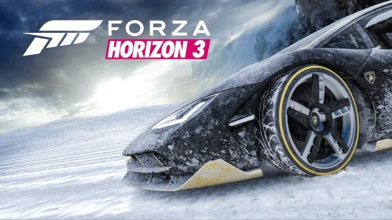 Mieri Forza Horizon 3 na zasnežený Nový Zéland?