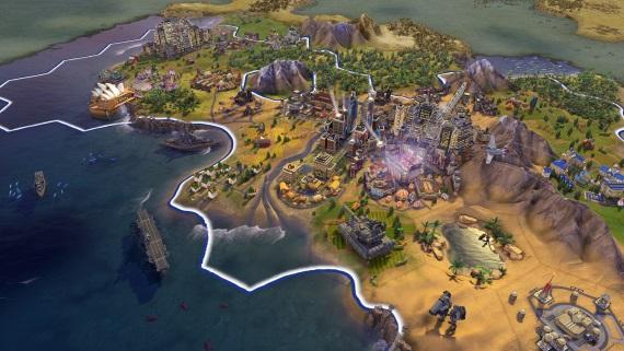Civilization VI dostalo veľkú jesennú aktualizáciu