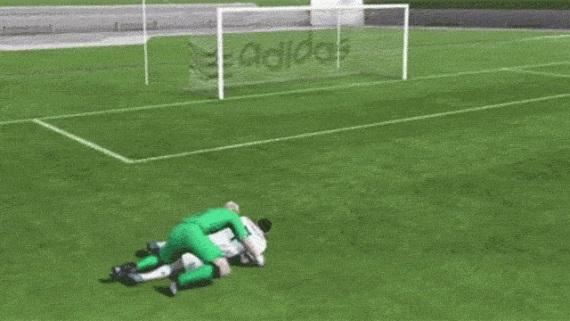 Pozrite sa na vtipné animácie z FIFA 17 prevedené do reality