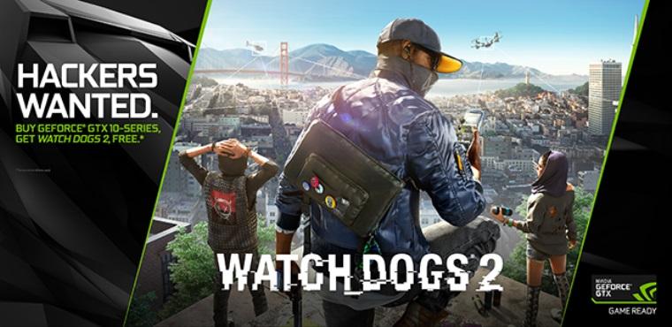 PC verzia Watch Dogs 2 dostane Gameworks efekty a aj bundle s Nvidia kartami