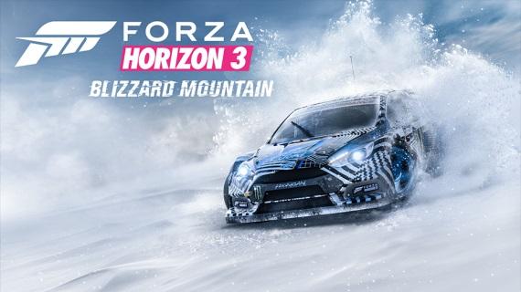 Forza Horizon 3 dostane zasnežené Blizzard Mountain prostredie budúci mesiac