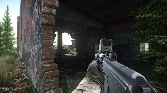 Obrázky z novej lokality v Escape from Tarkov