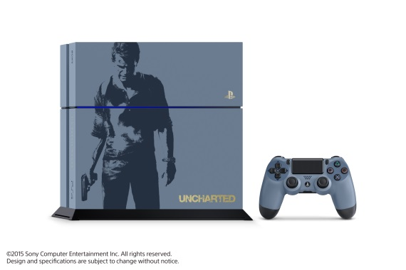 Predstavená limitovaná edícia PS4 s potlačou Uncharted 4: A Thief's End