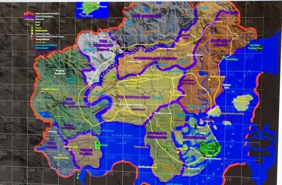 Mapa Red Dead Redemption 2 leaknutá