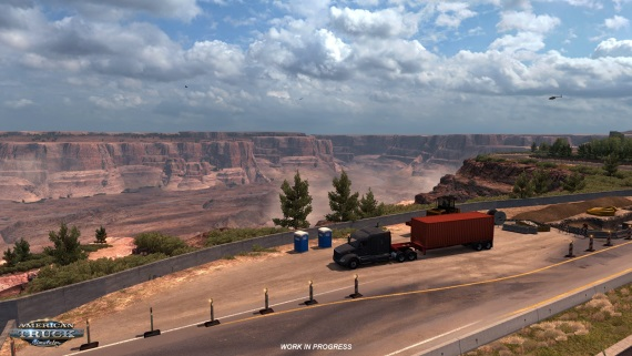 American Truck Simulator ukazuje Grand Canyon