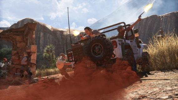 4K zábery z Uncharted 4