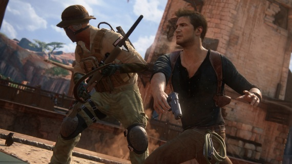 Zábery na Uncharted 4: A Thief's End