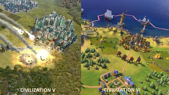 Prečo autori zmenili štýl grafiky v Civilization 6?