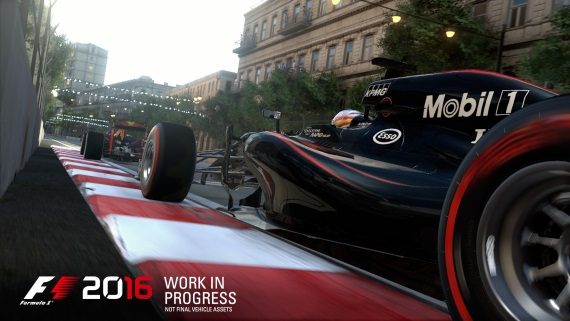 Prvé zábery na F1 2016