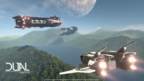 Dual Universe sa predvádza v traileri