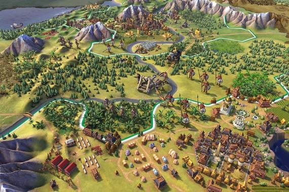 E3 gameplay ukážka z Civilization 6
