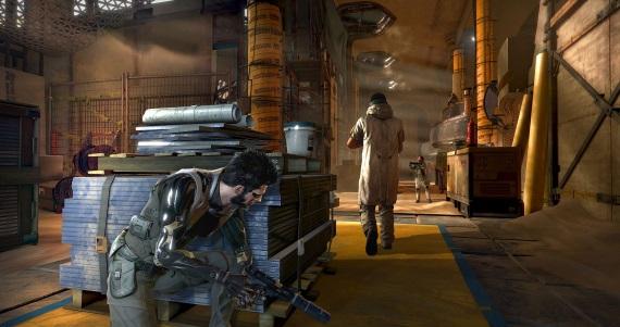 Deus Ex Mankind Divided ponúka sériu záberov