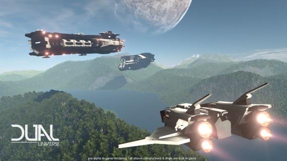 Gameplay ukážka z hry Dual Universe