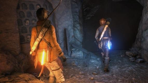 Ukážka kooperácie v Rise of the Tomb Raider