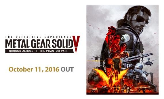 Metal Gear Solid V: The Definitive Experience potvrdené aj s dátumom vydania