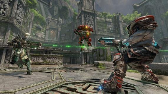 Quake Champions ukázal hrateľnosť, naozaj nie je ako Overwatch