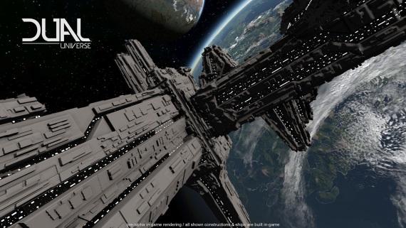 Dual Universe sa chystá zaradiť k veľkým vesmírnym MMO hrám, spustil Kickstarter