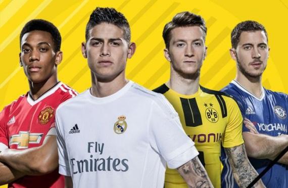 EA Sports predstavili 10 najlepších hráčov vo FIFA 17