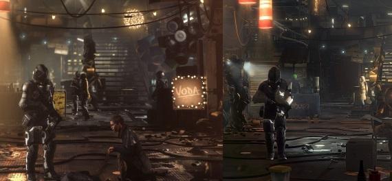 Deus Ex - porovnanie PC vs PS4 Pro